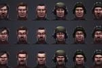 """Портреты мужских персонажей для игры """"Кризис"""" от Instgame"""
