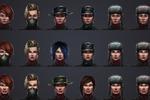 """Портреты женских персонажей для игры """"Кризис"""" от Instgame"""