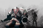 Концепт-арт боевого робота