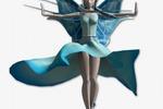 3Д персонаж для игры - ФЕЯ
