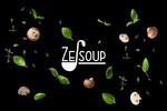 """Разработка логотипа и упаковки для крем-супов в пачках """"Ze-soup"""""""