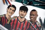 Рикардо Кака и Марио Балотелли. ФК Милан