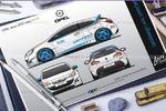 Opel Astra J GTC Livery. Винил авто