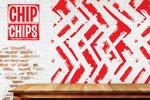 "Логотип и брендинг для сети кафе быстрого питания ""Chip Chips"""