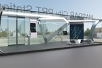 Station for PRT transport Masdar City