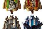 Иконки-гербы