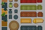 Сет мебели с вариациям для игры