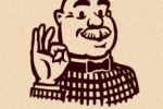 Фирменный знак «Сэр Пончикс»