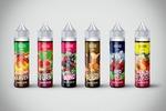 Дизайн этикетки жидкости для электронных сигарет