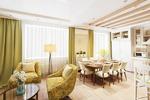 Кухня-гостиная(квартира в Подмосковье)