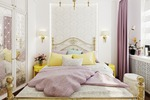 Спальня(квартира в Подмосковье)