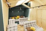 Мини-кинотеатр в студ.общежитии
