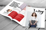 Верстка журнала IndigoKids