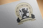 """Логотип команды по пауэрлифтингу """"Железный орден"""""""
