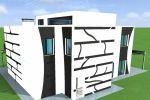 Индивидуальный жилой дом (монолит)