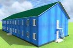 Социально-бытовое здания  (металоконструкции)