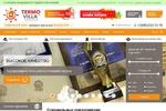 Доработка сайта по строительству домов termovilla.ru