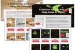 Посадочная страница для продажи светящихся виниловых наклеек