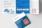 Дизайн и верстка буклета Lipolax