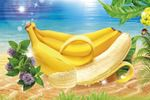 """""""Бананы"""" рисунок на упаковку"""