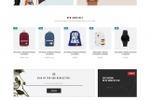 Магазин одежды под OpenCart