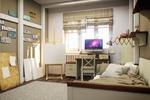 интерьер детской комнаты в Лофт