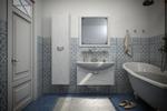 интерьер ванной комнаты 12