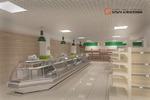"""Супермаркет """"Воробей"""" разработка дизайн-проекта"""