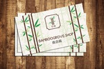 Визитка для компании по продаже картин в Китай