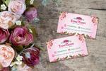 Визитки для магазина цветов