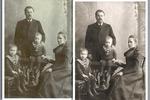 Восстановление старой фотографии (до и после)