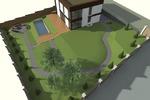 Дизайн ландшафта загородного дома