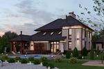 Архитектурный проект индивидуального жилого дома
