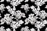 """Дизайн ткани """"Ночные цветы"""""""