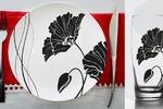 Серия иллюстраций для посуды разного диаметра и назначения
