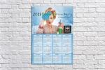 Календарь А2 для клининговой компании