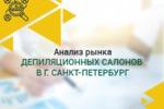Анализ рынка депиляционных салонов в СПб