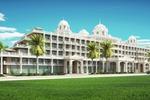 Архитектурное решение облика отеля, визуализация.