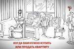 Рисованное видео для рекламы агенства недвижимости