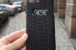 Разработка дизайна именного чехла. Вариации