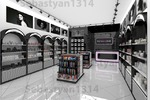 Магазин проф. косметики (дизайн и визуализация+фирм стиль)