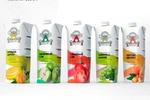Работа-победитель конкурса. Дизайн упаковки сока. Green flight