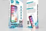 Дизайн упаковки для защитного стекла iphone x
