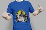 Принт для футболки. Калининград