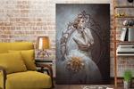 Дама с георгином (арт)