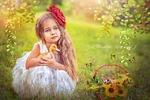 Яркий солнечный детский коллаж