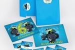 Разработка серии открыток, конвертов и наклеек