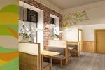 """Дизайн интерьера кафе быстрого питания """"Готово!"""""""