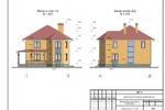 Фасады в осях 1-3 и А-Д-1