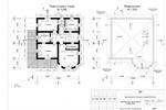 План 2-го этажа и схема кровли-1